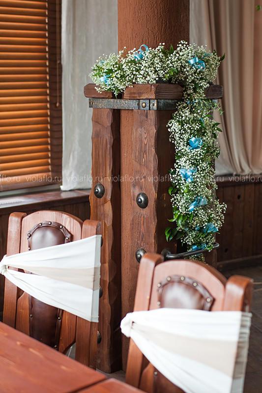 Оформление свадьбы в ресторане «Пират»
