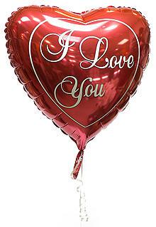 Шарик сердце «I love you»
