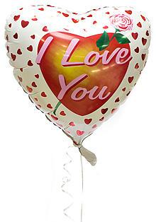 Шарик «I love you»