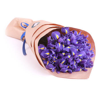 """Букет """"Фиолетовый сюрприз"""""""