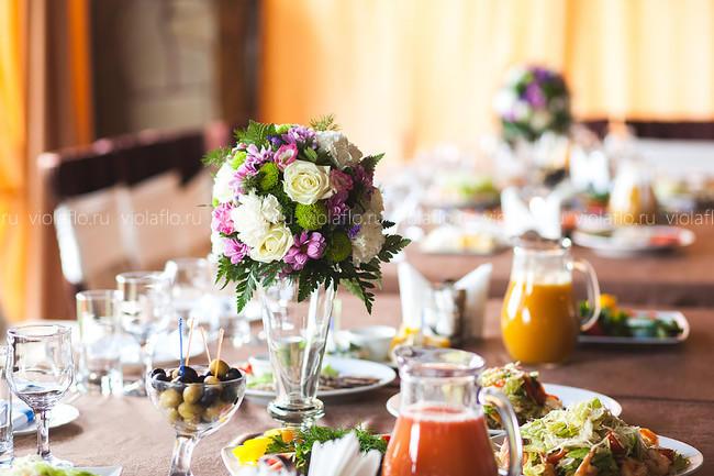 Оформление свадьбы цветами в Roni King