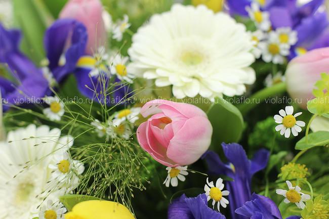 """Корзина """"Весенний сад"""""""