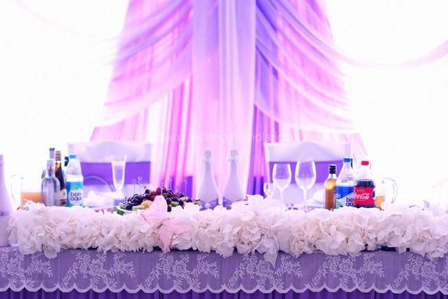 Оформление свадьбы в ресторане «Наместник»