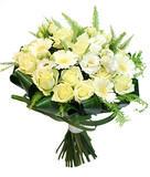 Белый букет цветов