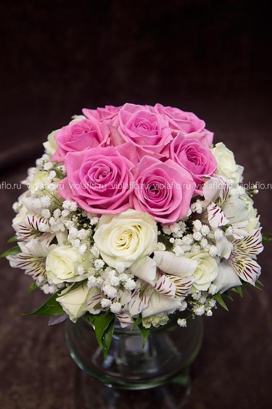 Свадебный букет «Аура»