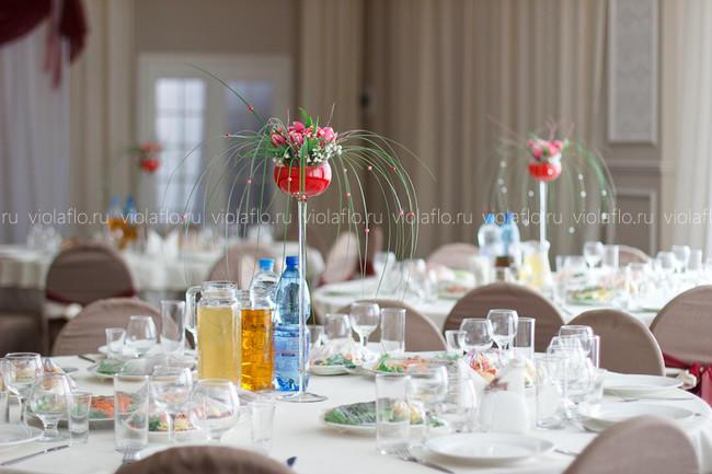 Бирхаус Тамбов — оформление свадебного зала