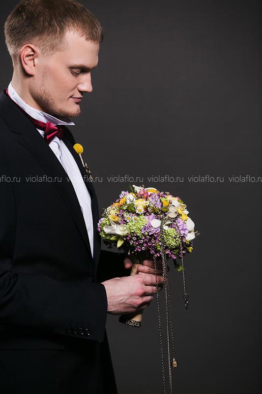 Свадебный букет «Летиция»
