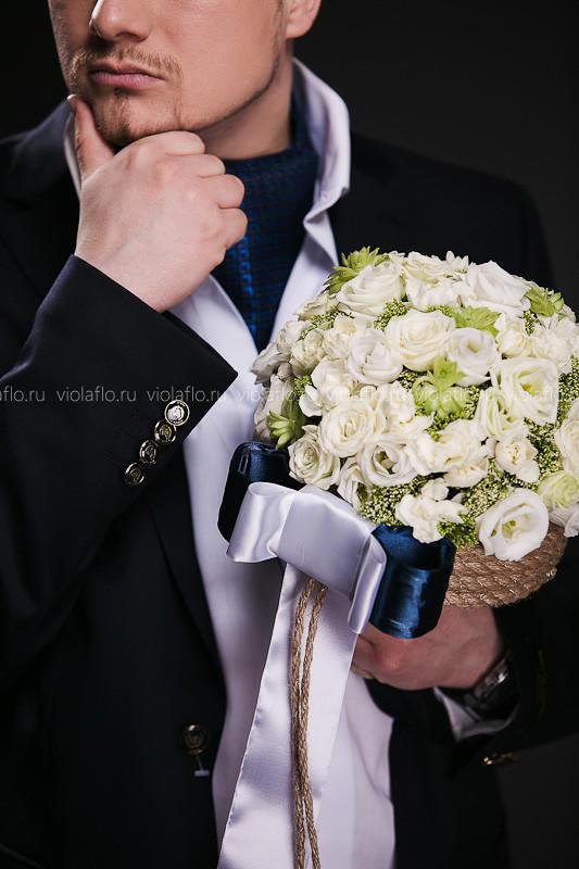 Свадебный букет «Ассоль»