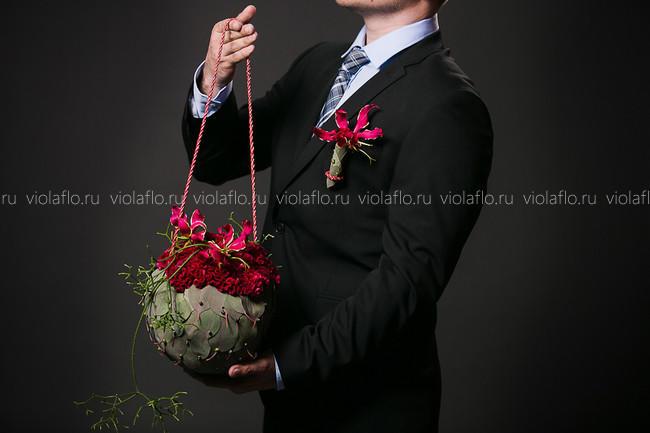 Свадебный букет «Беатрис»