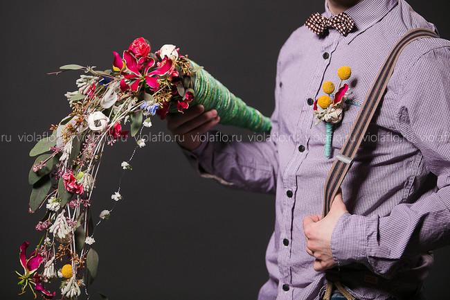 Свадебный букет «Глория»