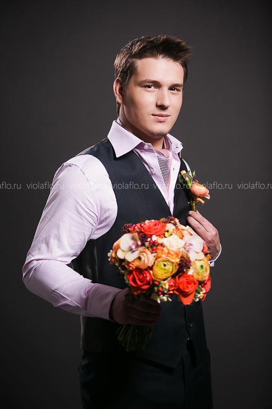 Свадебный букет «Жаклин»
