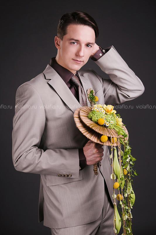 Свадебный букет «Мерилин»