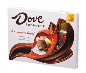 Коробка конфет «Dove»