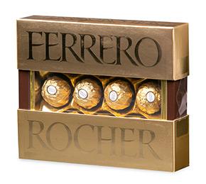 Коробка конфет «Ferrero Rocher»