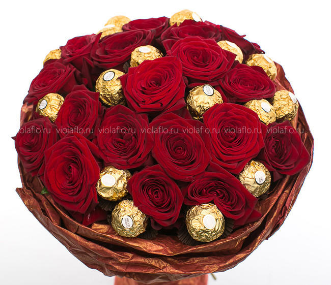 Букет «Ferrero Rocher»