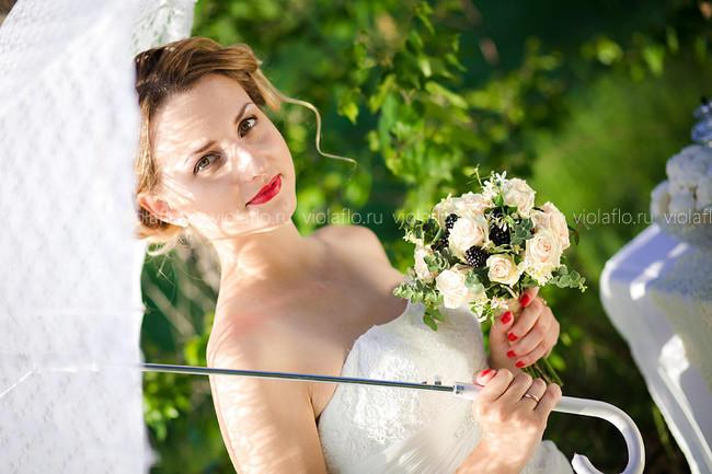 Классический букет невесты