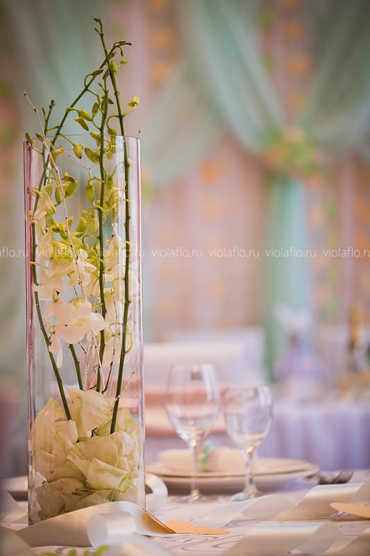 Креативное свадебное оформление зала