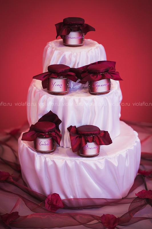 Оформление свадьбы в красном цвете