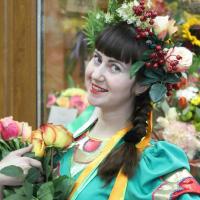 Ирина Чувинова, Флорист