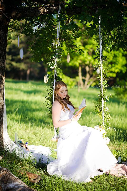 Романтичный свадебный букет