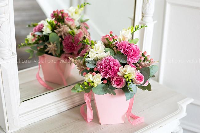 Композиция «Розовый фламинго»