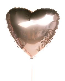 Шарик «Розовое сердце»