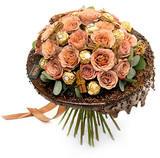 Букет «Шоколадный десерт»