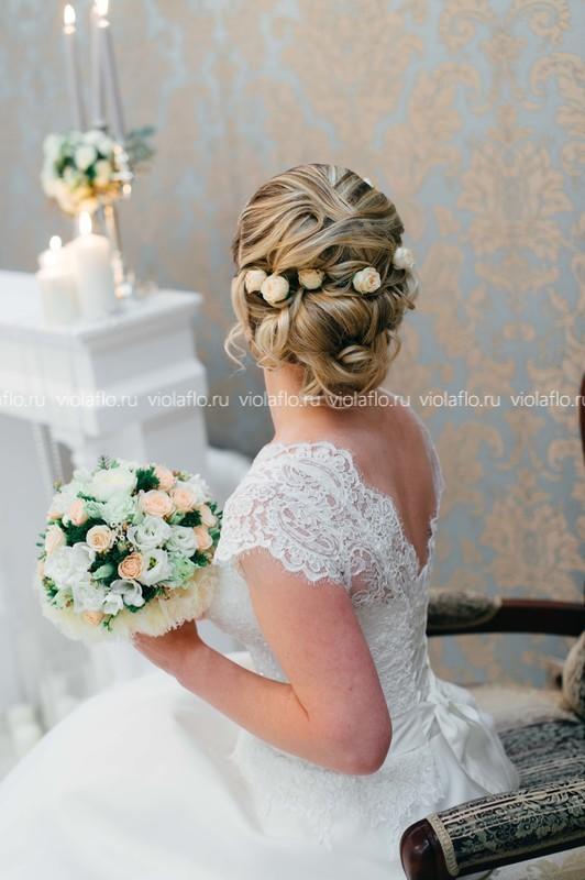 Свадебный букет «Нежная сказка»