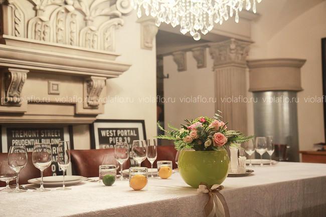 Украшение зала ресторана «Классик»