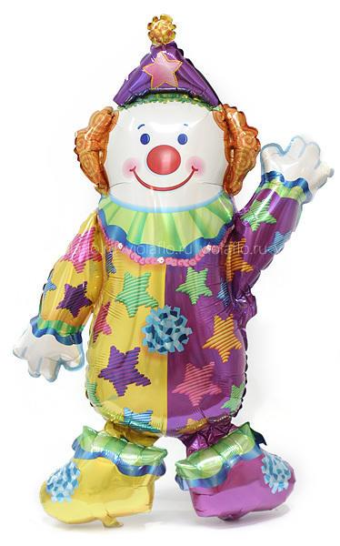Шарик «Веселый клоун»