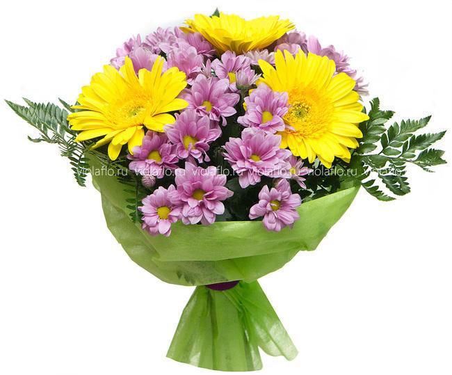 Букет цветов «Утренний свет»